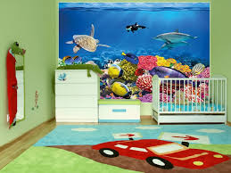 Wall Mural Ideas Undersea Wall Mural Ideas Anoninterior For The Incredible Kids