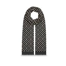 designer stoles for women louis vuitton monogram duo stole