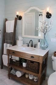 Beachy Bathroom Mirrors Enchanting Coastal Bathroom Vanities Foter Of Beachy Vanity