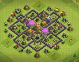 layout design th7 what is the best th7 layout in clash of clans quora