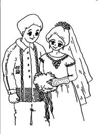 groom coloring pages free