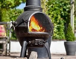 Bronze Cast Iron Chiminea Cast Iron Chiminea And Garden Fireplaces