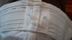 Sewing Drapery Panels Together I Just Wanted Some Fresh White Drapery Panels Living In The