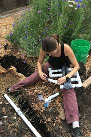 How Does An Outdoor Faucet Work Homesteady Homestead Project Installing An Irrigation System Sweet Bee Garden
