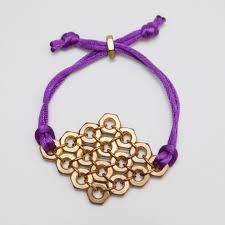 make diamond bracelet images Diy hex nut diamond bracelet jpg