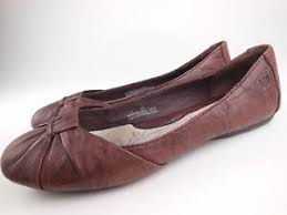 born adele flats born adele brown leather ballet flats shoes sz 7 ebay