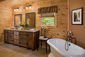 log home bathroom ideas bathroom log home bathroom vanity imposing on athens plan by