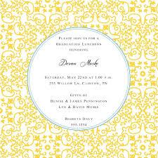 graduation lunch invitation wording invitation wording graduation party fresh graduation invitation