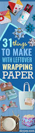 31 things to make with leftover wrapping paper diy joy