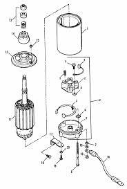 mercruiser starter 120hp diagram mercruiser 3 0 starter
