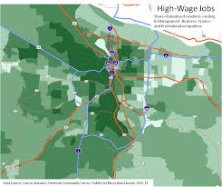 Map Of Portland Portland Polarization Maps Oregon Office Of Economic Analysis