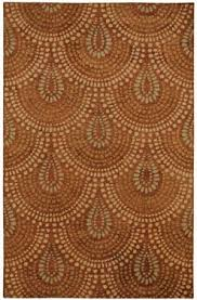 Brown And Orange Area Rug 48 Best Orange Images On Pinterest Area Rugs Genevieve Gorder