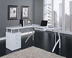Grey L Shaped Desk by Images About Office Furniture L Shaped Ideas White Corner Desk Of