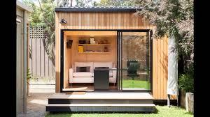Studio Shed With Bathroom by Backyard Studio Youtube