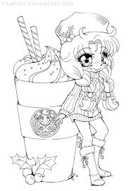 cute manga coloring pages cute line art coloring pages ideas exle resume with regard to