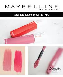 Maybelline Superstay Matte Ink review of the maybelline stay matte ink hub