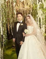 wedding photographs taeyang and min hyo rin s official wedding photographs hab korea net