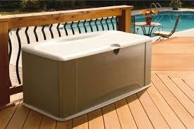 Suncast Patio Storage Bench Patio Storage Bench Patio Outdoor Storage Bench 32 Gallon Resin