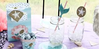 mermaid party supplies let s be mermaids birthday party theme bigdotofhappiness
