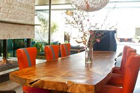 Living Edge Dining Table Function Be Damned Live Edge Dining Tables California Home Design