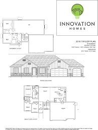 3 car garage dimensions taylor plan 3080 sqft u2013 innovation homes