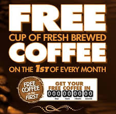 free finder usa get a free coffee on the 1st of every month from xtra mart