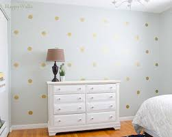 Vinyl Tree Wall Decals For Nursery gold polka dots wall decal for nursery and home