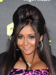 poof at the crown hairstyle popular creepy and fun hairstyles for halloween snooki hair
