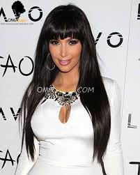 high quality kim hairstyles malaysian virgin silky straight lace