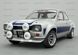 d m multimedia 3d cars escort mki mk1 escort rs work in progress