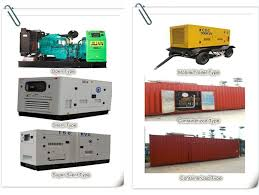 20kw 25kva power silent electric diesel generator mikano