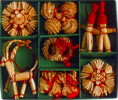 scandinavian decorations straw