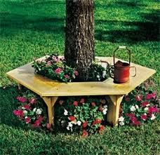 best 25 tree bench ideas on tree seat patio ideas