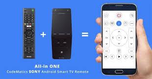 sony android tv remote codematics sonybravia android tv remote android apps on