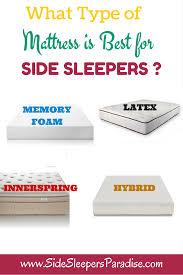 Best Mattress Best Mattress For Side Sleepers With Back Pain Mattress