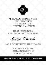Retirement Invitation Wording 41 Best Retirement Invites Images On Pinterest Retirement