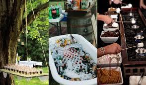outdoor wedding ideas 20 attractive and unique outdoor wedding bar ideas amazing diy