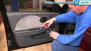 how to install replace master power window switch saturn ion 03 07