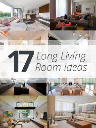 Interior Decorating Living Room Furniture Placement 17 Long Living Room Ideas Home Design Lover