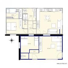 chambre enfilade 55m 2 chambres enfilade plan 12 pièces 89 m2 dessiné par rubiswhite