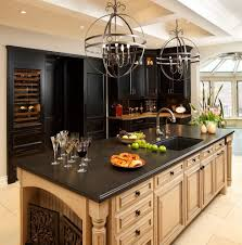 Kitchen Cabinets Wood by Kitchen Cabinet Stains With Red Stained Cabinets Wood Floor Counters