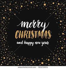 merry christmas card hand written lettering stock vector 730430602
