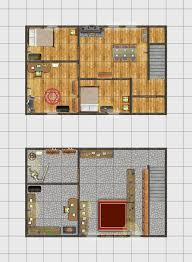 Shop Floor Plan Monday Maps Two Magic Shops Inkwell Ideas