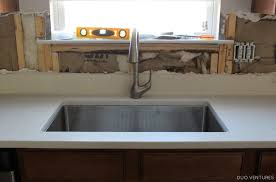 How To Install Faucet In Kitchen Sink Duo Ventures Kitchen Makeover Faucet U0026 Drywall Installation