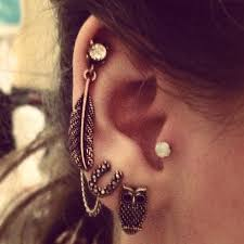 mr t feather earrings 57 best ear piercing ideas and earrings images on