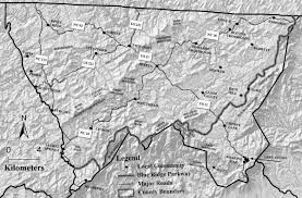 Unc Chapel Hill Map Maps Vascular Flora Of Alleghany County North Carolina