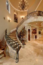 Fer Forge Stairs Design Wood Forest Mediterranean Staircase Houston By Gary Keith