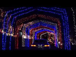christmas lights in missouri santa s magical kingdom at jelly stone park eureka mo youtube