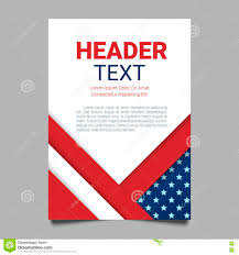 American Flag In Text Usa Patriotic Background Vector Illustration With Text Stripes