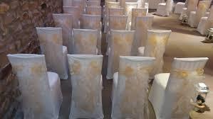 Gold Chair Sashes The Big Balloon Company Leigh Lancashire Wedding Chair Covers